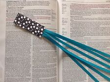 Bookmark ribbons multi page Bible books MUSIC NOTES handmade CHOOSE RIBBON COLOR