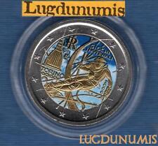 2 euro Commémo Couleur Color - Italie 2006 Jeux Olympique de Turin Italia