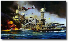 Morning Thunder by Robert Taylor  - Pearl Harbor - WWII - Naval Artwork Decor