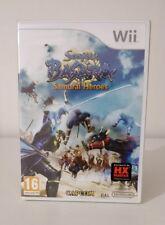 Sengoku Basara Samurai Heroes Nintendo Wii nuovo sigillato italiano raro tr blu