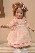 Ideal Collectors Shirley Temple Porcelain Doll American's Sweetheart Doll