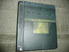 1934-1937 Hudson Terraplane Dealer Service Manual Binder
