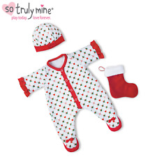 Ashton Drake Holiday Pajamas Baby Doll Accessories for So Truly Mine Baby Doll