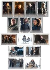 GAME OF THRONES Season 7 Preview - 14 Card Promo Set - GoT Jon Snow Tyrion Hound