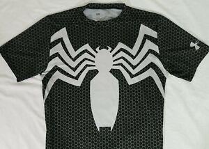 "🕷 Under Armour VENOM (SPIDER-MAN) ""Alter Ego"" Compression Shirt - Large (L) 🕸"