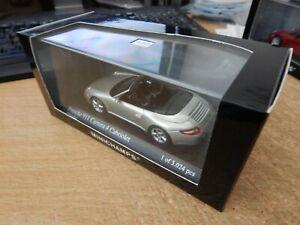 MINICHAMPS 1:43 Porsche 911 C4S Cabriolet silver 400065330 BOXED L.E 3024 pcs