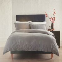 Evolve By Christy Inca Flint Single Duvet Set 100% Cotton