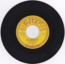 ROCKABILLY 45RPM - JERRY LEE LEWIS ON SUN - RARE!  BEAUTIFUL COPY!
