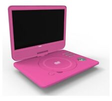"""BUSH Pink 10"""" Portable DVD PLAYER SD + USB Inputs (B 8645807 DV)"""