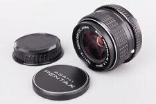 Pentax M SMC 28mm f/2 f2 Manual Focus Wide Angle Lens, For Pentax K Mount PK MF