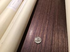 6.5yd NOBILIS Paris 'SISAL' Hand Woven Glazed Grasscloth Wallpaper France SID95