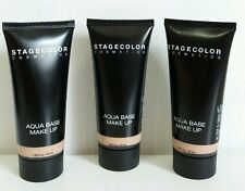 3x STAGECOLOR Aqua Base  Make-Up Feuchtigkeits Make Up, Farbe N, 707,40ml NEU !!