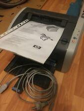 HP Laserjet 1010 Laserdrucker monochrom für Windows XP USB 2.0