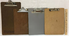Clip Boards Hardboard Amp Plastic Letter Amp Legal Size Mixed Brands Office Lot Of 4