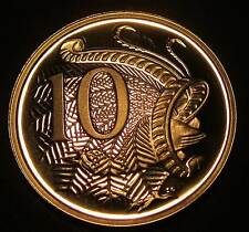 1981 Australia PROOF 10c Ten Cents #881-10 #SP81-10-01
