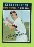 1971 Topps - Dave Johnson (#585)  Baltimore Orioles