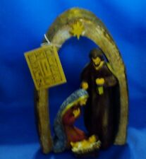 holy family arch tabletop  Nativity Scene religious