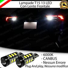 LAMPADE RETROMARCIA 13 LED T15 W16W CANBUS PER TOYOTA RAV-4 5 V 6000K NO ERROR