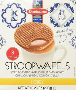 Daelmans Stroopwafels, Honey, 10.23 OZ