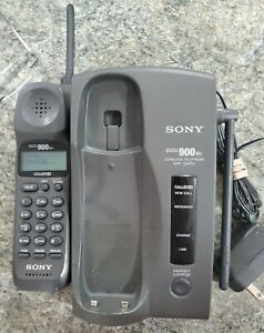 SONY SPP-ID970 Cordless Telephone Caller ID Handset Digital 900mhz with Adapter