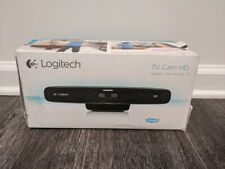 Logitech TV Cam HD HDMI Optics Webcam Remote Camera Wi-Fi Skype 960-000921