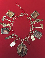 Tiffany and Chucky Charm Bracelet - Bride of Chucky/Childs Play .. Horror Movie