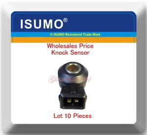(x10) Knock Sensor (KS) Fits: NISSAN - INFINITI - SUZUKI