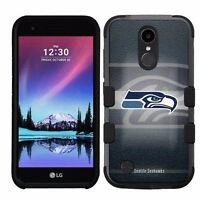 for LG K20 Plus/LG V5 Impact Armor Rugged Hybrid Case Seattle Seahawks #BG