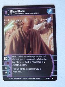 Star Wars TCG -  SR - Sith Rising - Mace Windu (C) 18/90 NM/Mint