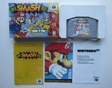 *MINT* Super Smash Bros Nintendo 64 N64 Authentic OEM CIB Complete In Box #3