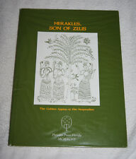 Herakles, Son of Zeus, Golden Apples of the Hesperides (1997) rare book