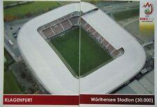 Panini 26 & 27 Klagenfurt Wörthersee Stadion UEFA Euro 2008