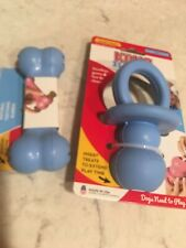 New listing Kong Binky Pacifier and Goodie Bone Blue New Dog Puppy Small - Teething Toys