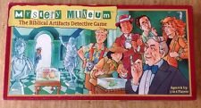 MYSTERY MUSEUM Biblical Artifacts Detective Board Game Who Done It? Complete
