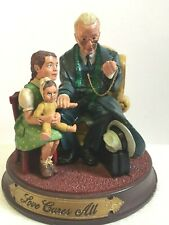 Norman Rockwell Love Cures All 1991 Gems of Wisdom Limited Number Edition Figure