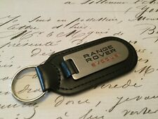 RANGE ROVER EVOQUE Key Ring Etched and infilled On Leather