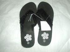NEW Women's Fashion Wedge Platform Thong Flip Flops Slip On Sandals Shoes M