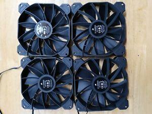 Set of 4 fans new Corsair 140mm ,12v DC 0.3A. 4pins