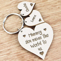 Personalised Gifts For Mummy Mum Grandma Auntie Nanny Keyring Christmas Gift U10