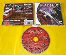 MAKEN X Sega Dreamcast Dc Versione Americana NTSC ○○○○○ COMPLETO - AX