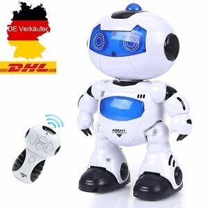 Ferngesteuerter Roboter für Kinder Spielzeug Roboter RC Tanzen Singen Infrarot