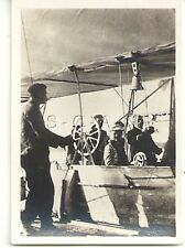 WWI Org German Real Photo- Cigarette Card- Graf Zeppelin- Airship Gondola- LZ 3