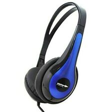 HCL Lightweight Headphones Inline Mic For Tablets PC MAC gaming work home