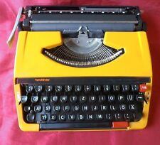 VTG Typewriter BROTHER 250 TR - fully functional - with case - new ribbon - #TW5