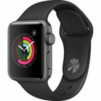 Apple Watch Series 2 38mm Smart Watch - Space Gray/Black (MP0D2LL/A)
