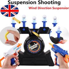 UK Hover Floating Target Air Shot Game Foam Dart Blaster Shooting Ball Kids Toys