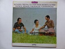 BEETHOVEN Trio n°3 et 4 pour violon violoncelle et piano FONTANAROSA 7629