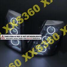 ORACLE Headlight HALO KIT RINGS for Cadillac Escalade 07-13 WHITE LED Angel Eyes