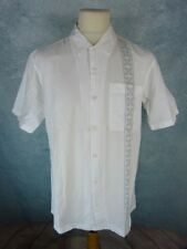 OXBOW Chemise Homme Taille M - Blanche - manches courtes