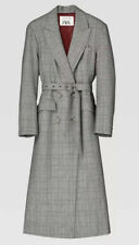 Bnwt Zara Limited Edition Check Coat Size S Bloggers Fave